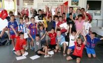 Stages d'été du club : juillet et août 2012