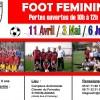 Foot féminin : matinées portes ouvertes