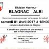 BFC – Albi 01/04/2017