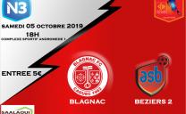 Blagnac / Béziers N3 05/10