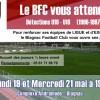 Détections U19 : les 19 et 21 mai 2014