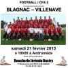 CFA 2 : BFC – Villenave, samedi 21 février à 18h00