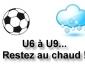 Ecole de foot : pas d'entraînement pour les U6 à U9