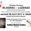 BFC – LUZENAC 08/04/2017