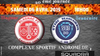 Blagnac – Beaucaire N3 06/04