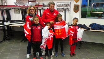 Remise maillots section féminines