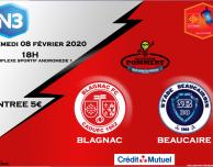 Blagnac Beaucaire N3