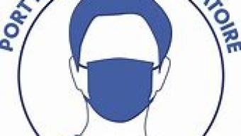 Port du masque obligatoire sur nos complexes