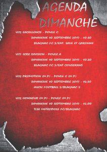 Affiche AGENDA DIMANCHE 10 septembre