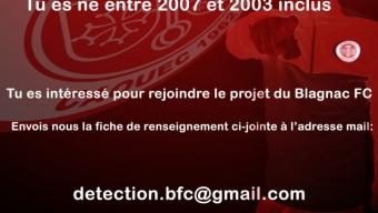 Détection U14 U18 saison 2020/2021