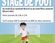 Stage Avril 2021 Annulé