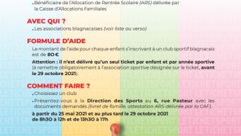 Ticket sport Ville de Blagnac