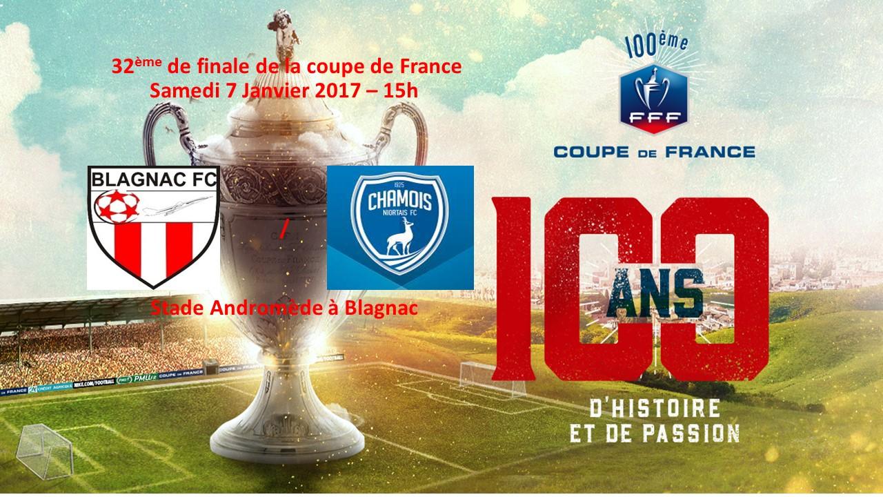 Coupe de france 32 me de finale blagnac niort l2 - 32eme de finale coupe de france en direct ...