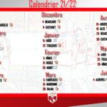 Calendrier N3 21 22